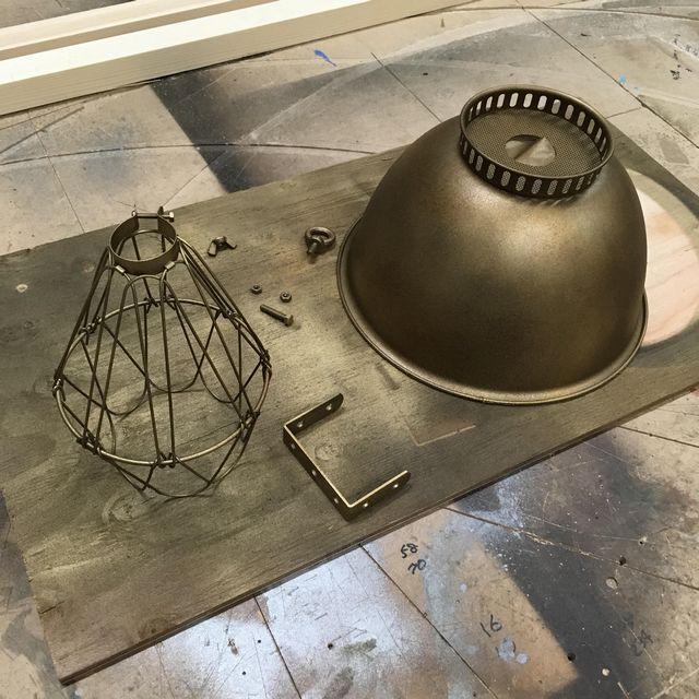 brasslampshade