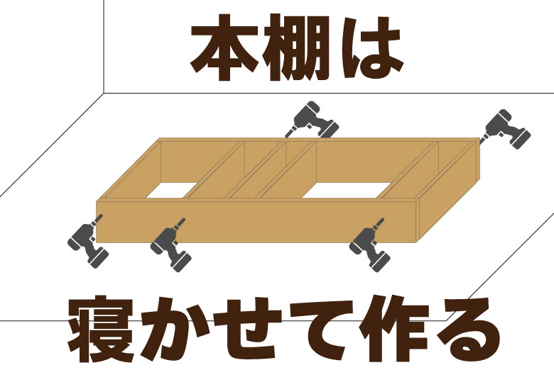 本棚作り方1