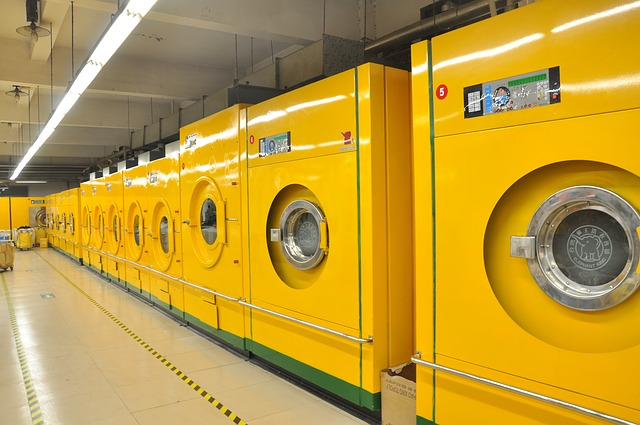 毛皮を洗うための業務用洗濯機
