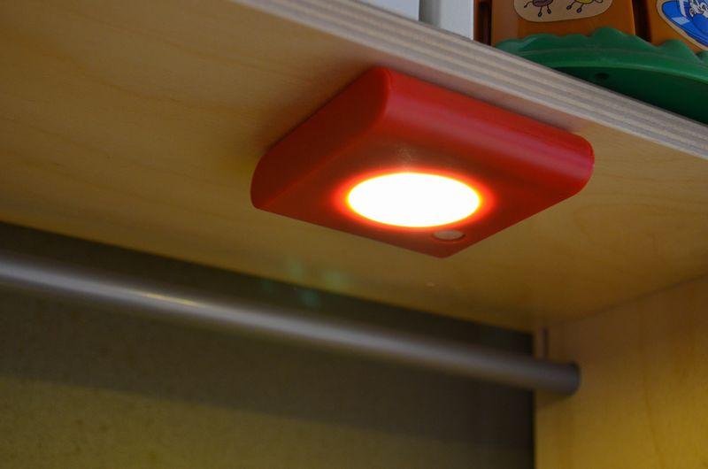 IKEA オーレビー OLEBY センサーライト 人感センサー 照明 電池式