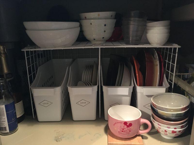 シンク下収納 食器収納 作り付け収納